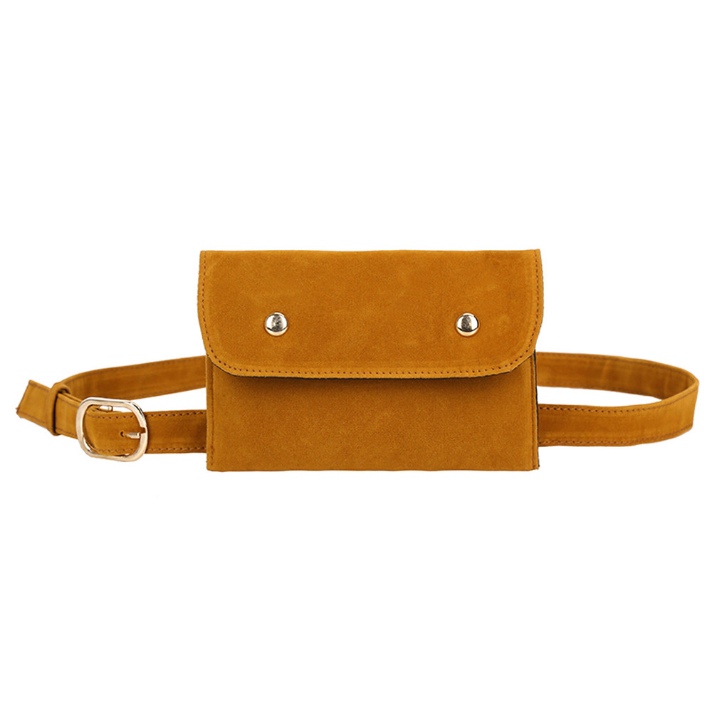 Fashion Suede Mini Fanny Pack Waist Bag Solid Color Square Chest Bag Waist Bags Women Designer Fanny Pack Fashion Belt Bag A1