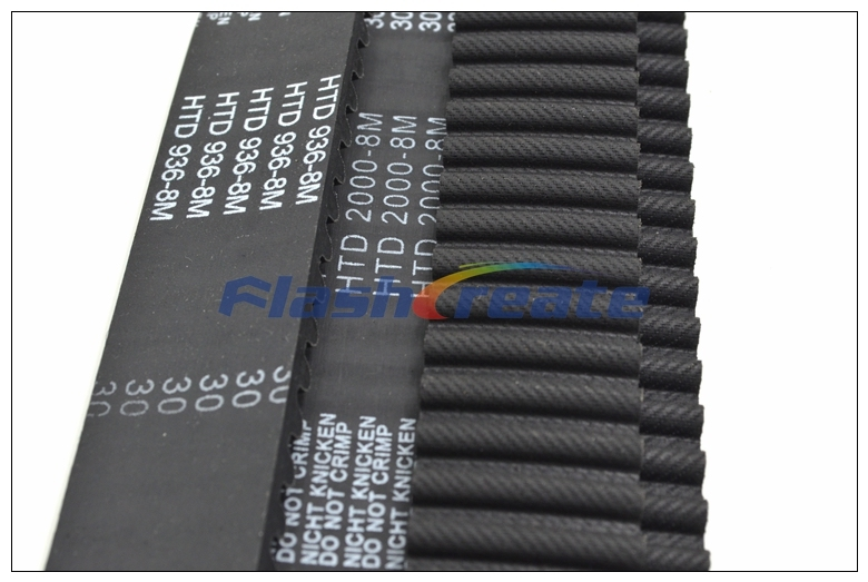 1160-8M-20 HTD Timing Belt 1160 mm Long 20mm wide /& 8mm Pitch