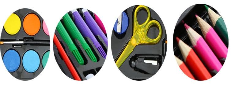288 PCS Kids Gift Watercolor Drawing Art Marker Brush Pen Set Children Painting Art Set For Kids Gift