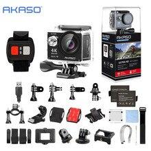 AKASO EK7000 4 K WIFI Action Extérieure Caméra Vidéo Sports Extrêmes barre Ultra HD Plongée Étanche DV Caméscope 12MP 170 Large Angle