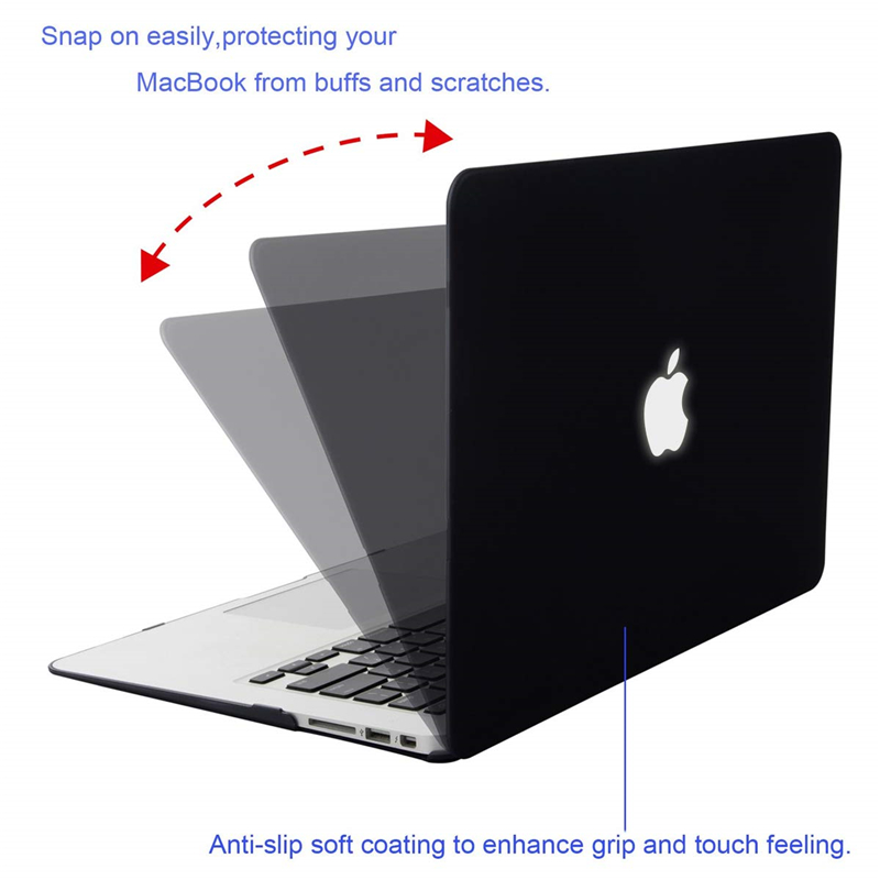 Image 2 - MOSISO Crystal Hard Case For Macbook Air 13 New 2018 Retina Pro 13 Hard Cover With Free Keyboard Cover Model A1466 A1502 A1932-in Laptop Bags & Cases from Computer & Office
