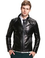 Men S High Quality Sheepskin Leather Jackets Coat Men S Jacket Motorcycle Jacket Coat Parka Men