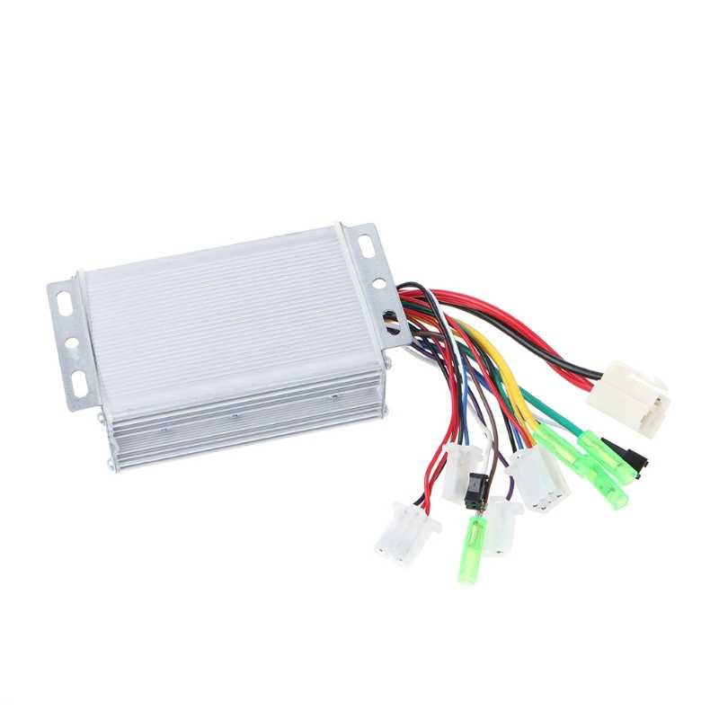 OOTDTY 36V/48V 350W Electric Bicycle E-bike Scooter Brushless DC Motor Controller for Motor with sensors Hotselling
