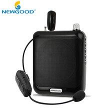 2.4G Amplificador de Voz Impulsionador Megafone Microfone Mini Speaker Portátil USB TF Cartão de rádio FM para Guia Turístico Professor Promoção