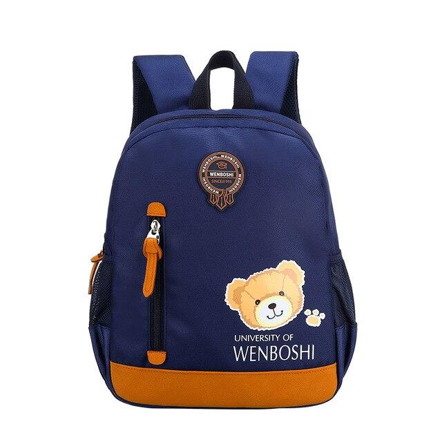 6aedf7426c23 Cartoon Children backpack Cute Bags for Boys Kindergarten baby kids girls  Oxford School Bags Baby Girl
