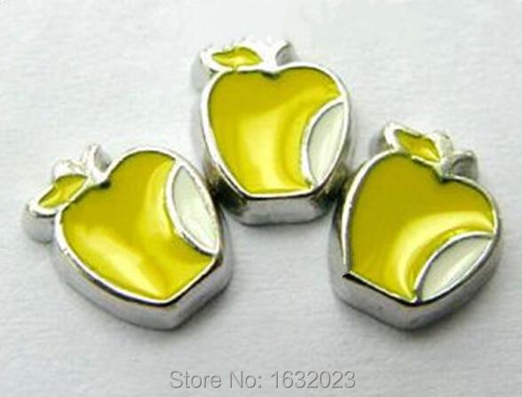 aa4e3ef2eaba 20 unids! Apple flotantes color de la mezcla cupieron los lockets flotantes  y la pulsera flotante del Locket
