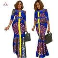 2017 afrikaanse kleding вур vrouwen Vintage Maxi Dress Dashiki африканских платья для женщин в африканских одежды других WY1146