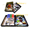 'Saboteur 1' & 'Saboteur 1+2 Expansion' - Board Game Good Quality 2~12 Players - Party game - Vintage treasure game - Saboteur