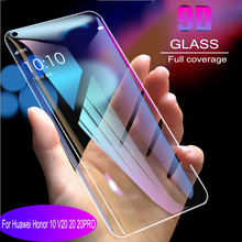 9D full coverage Tempered Glass  For Huawei Honor 10 V20 20 PRO Screen Protector Protective Film Anti Blue Ray