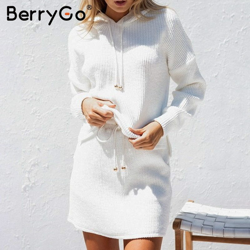 Casual suit dress women Cotton dress Oversized Knitted dress 1