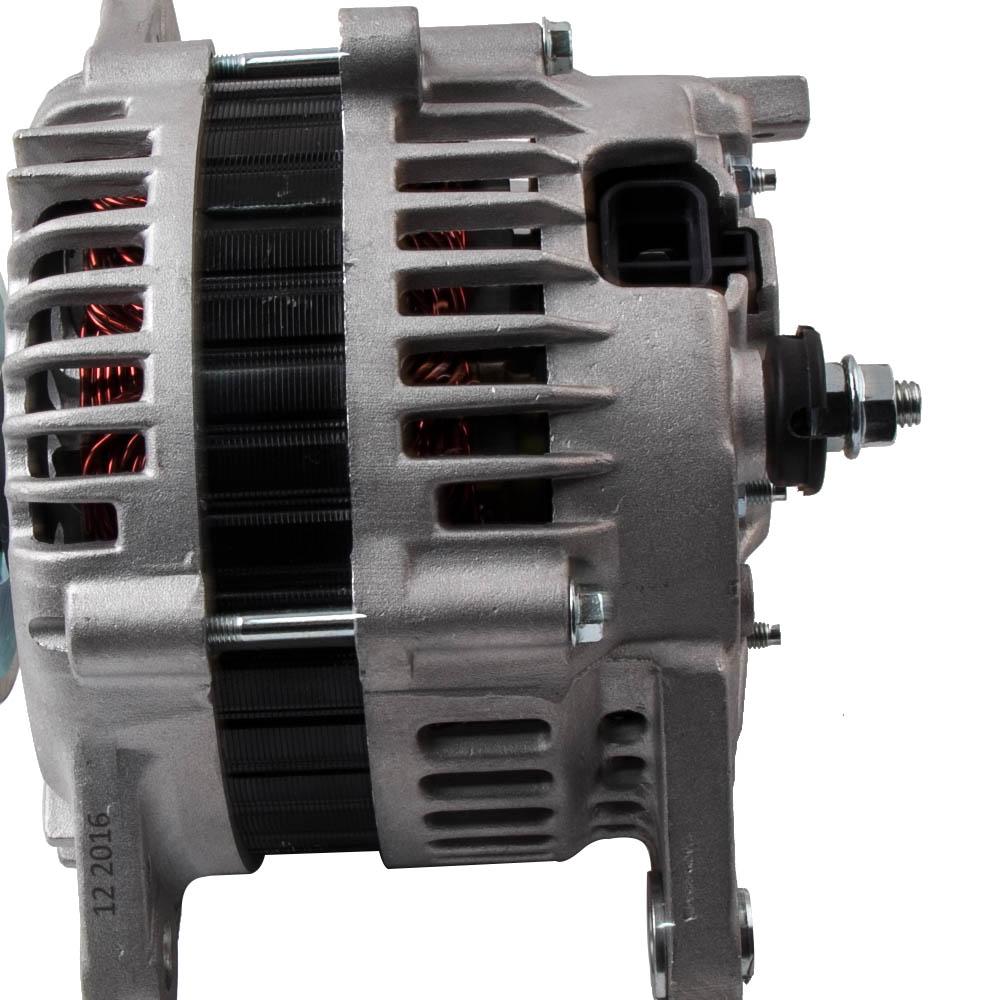 US $145 34 14% OFF|100A Alternator LR1100705 for Nissan Patrol GU 4 2L  Including Turbo engine Diesel TD42 TD42T TD45 TD48T 98 10 LR1100 705B-in