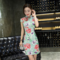 New Chinese Traditional Long Dress Women's Cheongsam Qipao Vintage Evening Wedding Dress