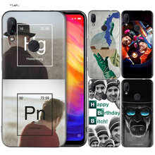 Coque Silicone pour Xiao mi rouge mi Note 7 6 5 Pro mi A1 A2 8 Lite 9 GO Poco F1 S2 4 4X Plus Heisenberg Breaking Bad(China)