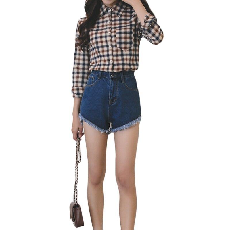 Shorts Sporting Hohe Taille Denim Shorts Bestseller Sommer Marke Neue Sexy Frauen Fashion Slim Fit Denim Shorts Plus Größe S-5xl Sl061 Einen Effekt In Richtung Klare Sicht Erzeugen