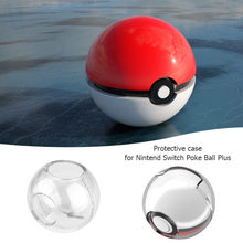 Crystal Protective Case For Pokeball Plus Controller Shockproof Full Protection Pouch Cover for Nintendo Switch Poke Ball Plus(China)