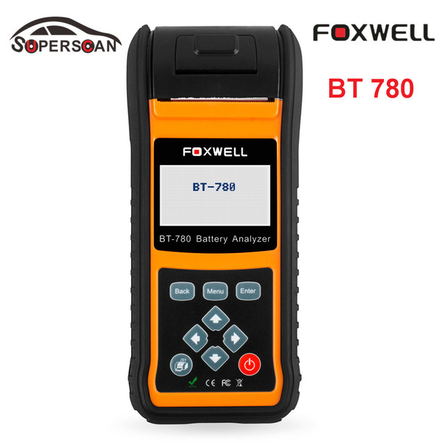 Original Professional Battery Diagnostic Tool Car battery Analyzer Foxwell BST-780 Auto battery tester 12V&24V PK BST460