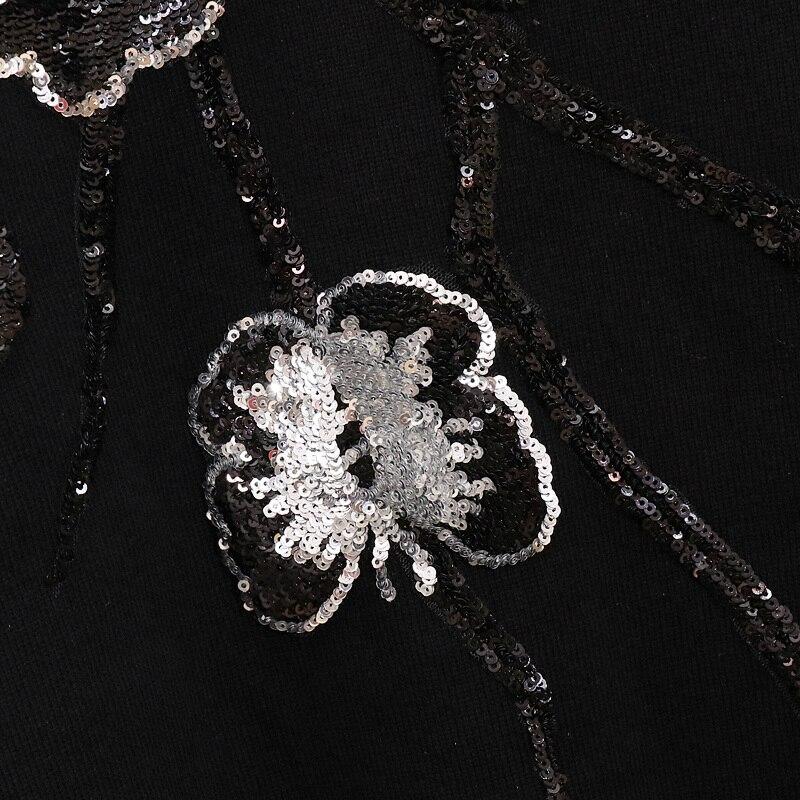 Papillon Pantalon Deux Tricoté Chandail Costumes Set Ensemble Hiver Broderie 2018 Pièces Femmes 2 PqAXn1WT