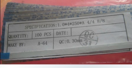 FFC 1.0pitch 15pinor12pin 200mm long type BFlexible Flat Cable For TTL LCD DVD Computer Printer AWM 80C 60V VW-1