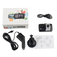 USB Dash Cam, 3 HD 1080P Car Camera Driving Recorder 170 Wide Angle Dashboard Camera with Night Vision, Cycle Recording