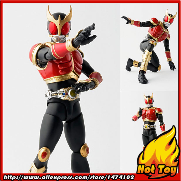 """Original BANDAI Tamashii Nations S.H.Figuarts (SHF) Action Figure   Kamen Rider Kuuga Rising Mighty from """"Masked Rider Kuuga"""""""