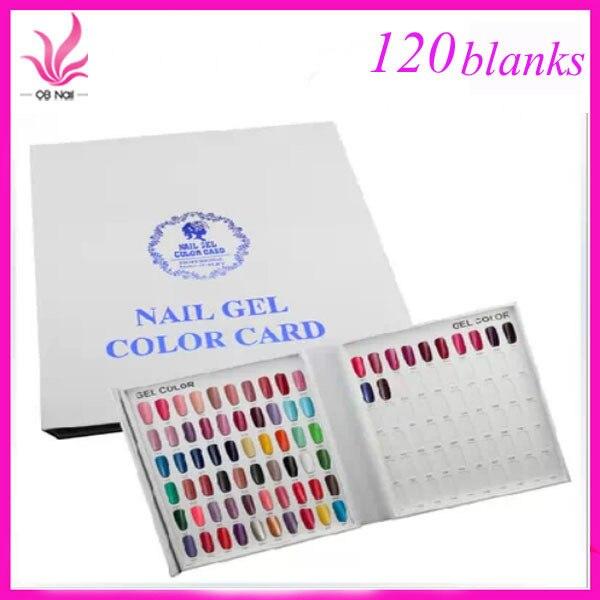 Neue 120 Farben Nagelgelpoliermittel Display Buch Diagramm für Nail ...
