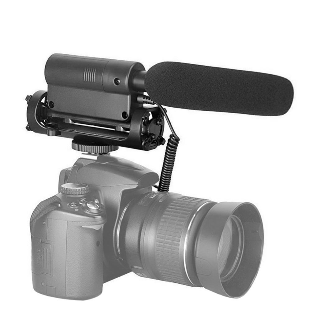 2018 NEW Arrival SGC-598 Interview Photography Mic Microphone Camera DV For Nikon Canon Sony New