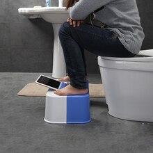 2017no slip toilet foot stool potty stool squat Crouch hole  folding toilet stool squat potty stool phone holder design