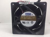 Original AVC DV12038B12H 12038 120mm 12cm 12V 4.5A Dual Ball Bearing high speed server inverter axial cooling fan