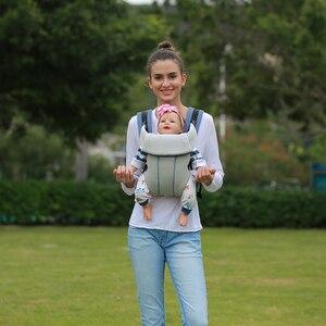 Image 5 - 1 30 months breathable ergonomic baby carrier backpack sling wrap toddler carrying baby holder belt kangaroo bag for travel