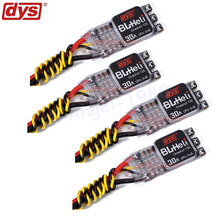 4pcs/lot Original DYS NEW version XM30A XMS30A BLHeli mini 30A V2 ESC For High KV Power Electronic Speed Controller lhi 4pcs wraith32 32bit 35a blheli