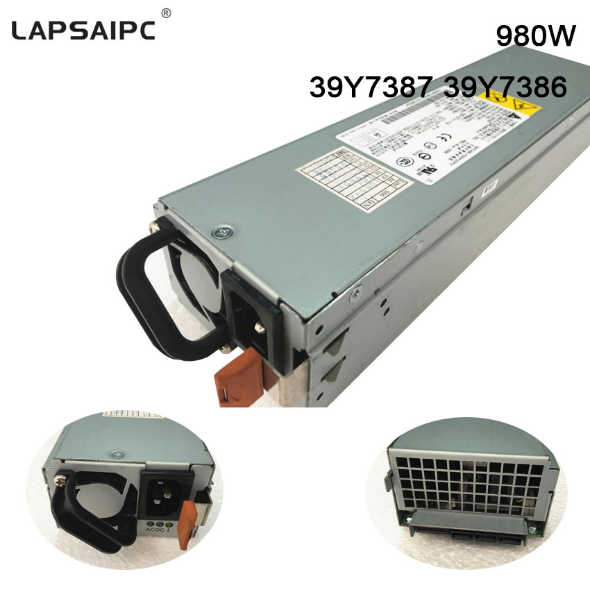 980W Server Power Supply for DPS-980CB A 39Y7387 39Y7386 X3400 X3500 M2 M3 980W Server Power Supply workstation power supply dps 980ab for server pro a1186 980w original 95%new well tested working one year warranty