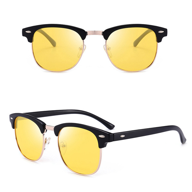 c61f0c10586 Jsooyan 2018 Polarized Sunglasses Men Fashion Night Vision Driving Sunglass  Classic Retro Round Shades Sun Glasses Male Eyewear