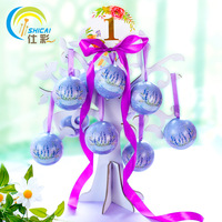 Wizard ball love tree combination suit round tinplate creative personality sweet candy box wedding decoration Gift Boxes