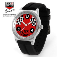 2017 New Europe Hot Sales 6colors Fashion Racing Brand GT WATCH Good Quality Men Women Gifts