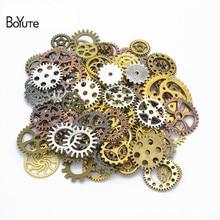 BoYuTe (500 gram/partia) mieszane style Metal Steampunk Gears Diy steam punk biżuteria ze stopu akcesoria