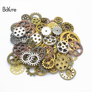 Image 1 - BoYuTe (500 gram/partia) mieszane style Metal Steampunk Gears Diy steam punk biżuteria ze stopu akcesoria