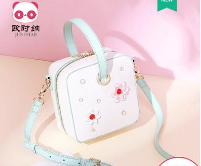 цена на Princess sweet lolita Spring and summer handbags leisure bag shoulder bag satchel Korean version collage square bag 171870