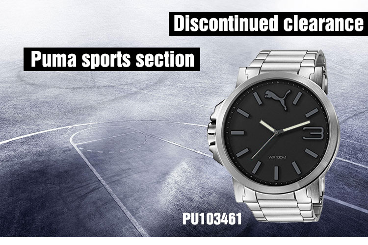 c78aff4fade ... our packaging suffered a storm on the road, the packaging has been  miserable But our genuine Puma watch solid and has a excellent waterproof  effect.