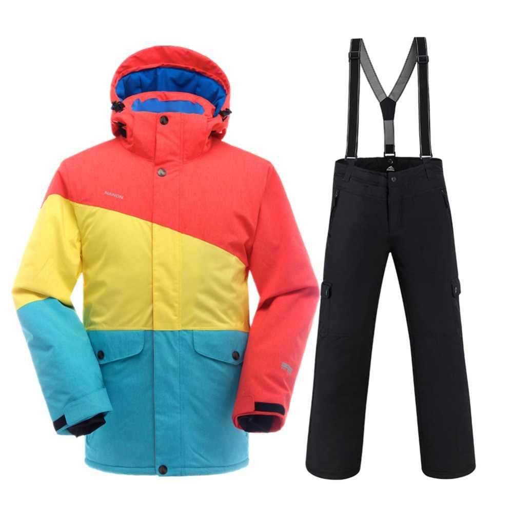 79e3a9e0d5f SAENSHING Winter Ski Suit Men Waterproof 10K Warm Ski Jacket Snow Suits  Outdoor Mountain Skiing Suit