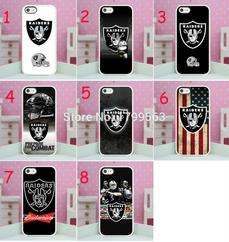 Oakland Raiders Galaxy S4 Hard Case