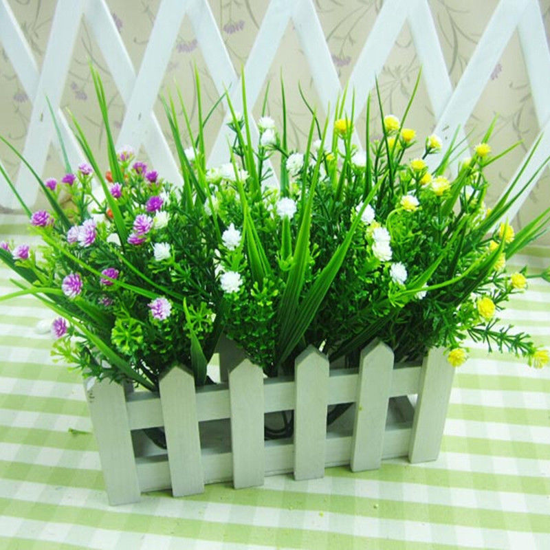 best selling brand new artificial green plants grass fakes floral