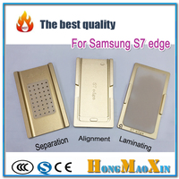 1Set 3pcs LCD Touch Screen Alignment OCA Laminating Separator Mould For Samsung S6 Edge Plus S7