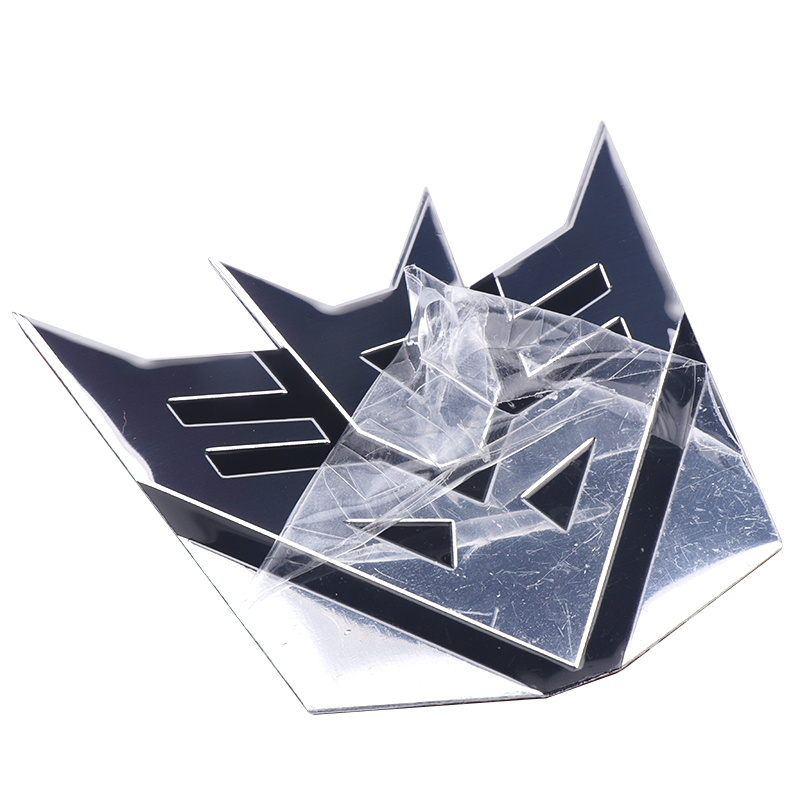 Image 2 - 3D Car Stickers Cool Autobots Logo Car Styling Metal Transformers Badge Emblem Tail Decal Motorcycle Car Accessories Automobile-in Car Stickers from Automobiles & Motorcycles