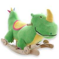 Kingtoy плюшевые детские качалки качалками детские деревянные качели сиденье детский открытый ездить на коляски, игрушки