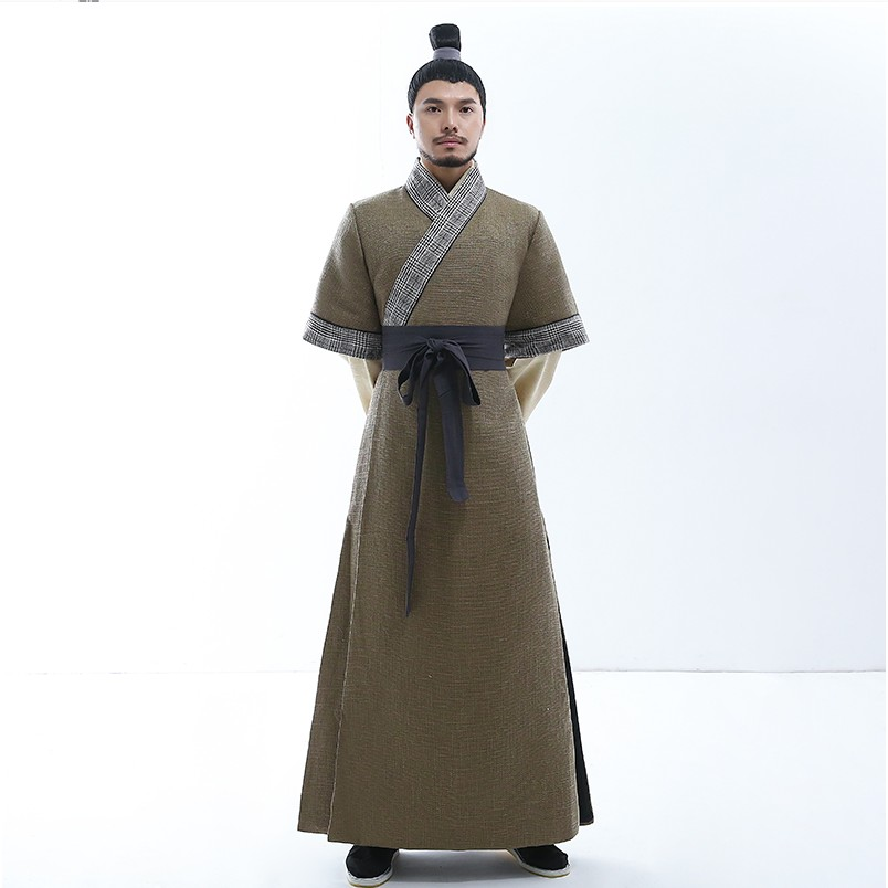 Hanfu Male Costume Ancient Chinese Swordsman TV Play Stage Performance Hanfu cosplay Costume for men