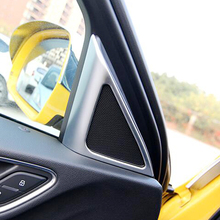For Audi Q3 2013 2014 2015 2016 2017 accessories ABS Plastic Interior A-pillar Door Stereo Speaker horn Cover Trim Car Styling lapetus front pillar a stereo speaker audio sound frame cover trim fit for volvo xc40 2018 2019 2020 abs accessories interior