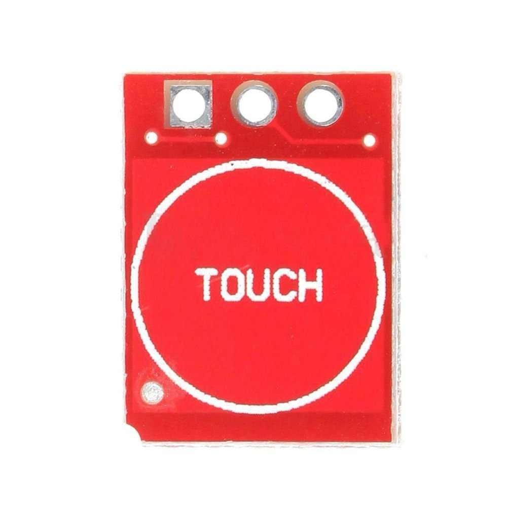 TTP223 klawisz dotykowy moduł przełączający przycisk dotykowy samoblokujący bez blokowania przełączniki pojemnościowe pojedynczy kanał dla Arduino l8