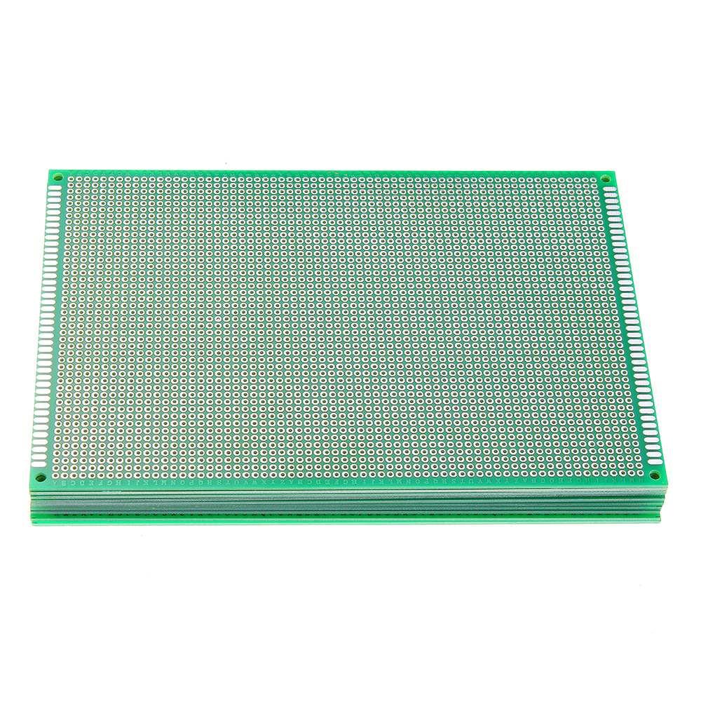 10 ピース/セット 12 × 18 センチメートル FR 4 2.54 ミリメートル片面 DIY はんだプロトタイプ Pcb プリント回路基板片面 PCB   -