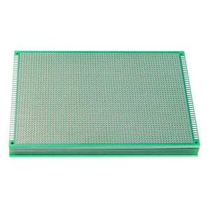 Image 1 - 10pcs/set  12x18cm FR 4 2.54mm Single Side DIY Soldering Prototype PCB Printed Circuit Board