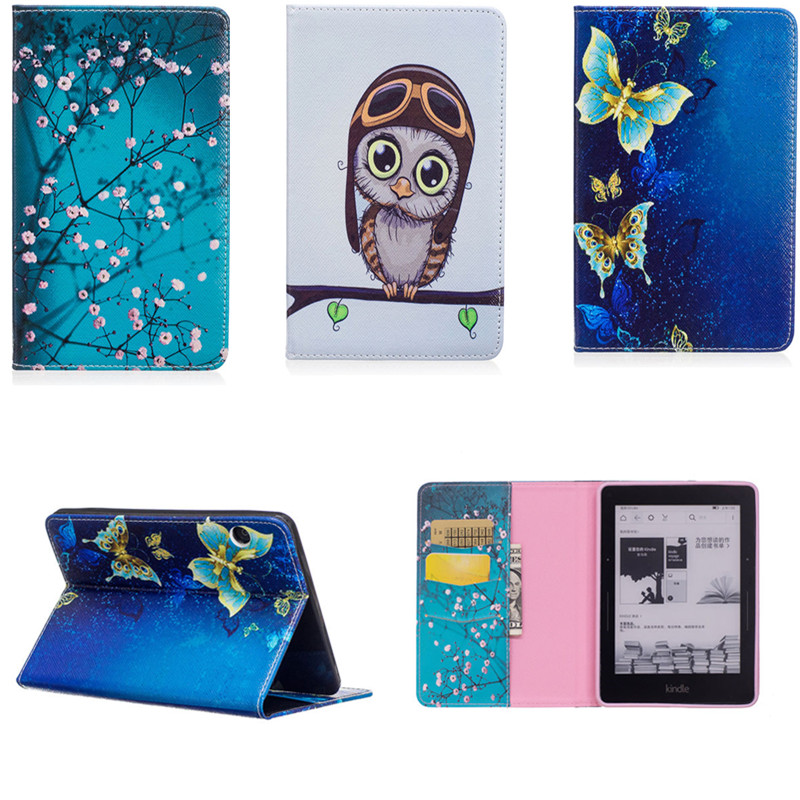 New Coque Funda Soft TPU Back Shell Cover Case for Amazon Kindle Voyage 6 Ereader Ebook Wallet BOOK Cute PU Leather Case for ipad mini4 cover high quality soft tpu rubber back case for ipad mini 4 silicone back cover semi transparent case shell skin